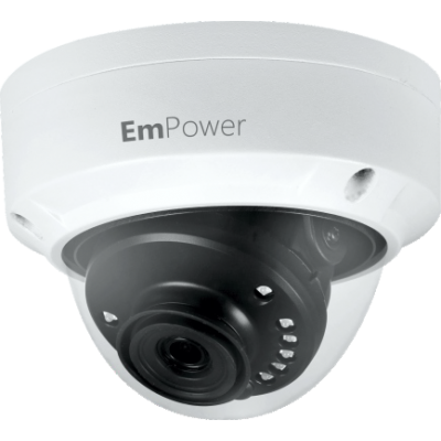 8MP 4K H.265 IR Dome Network Camera 2.8mm Lens