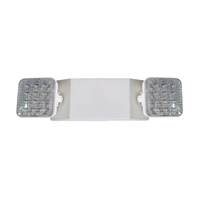 Twin Head Emergency Universal Mount LED Thermoplastic Unit