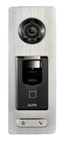 Video Access Control 1 Door Terminal Finger Print Reader 2mp