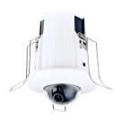 Fixed Lens In-Ceiling IP Network Dome Camera 2.1MP
