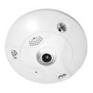 Platinum Network Fisheye IP Camera, 6.3MP - Outdoor