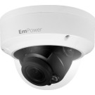 8MP WDR IR Dome Network Camera with motorized lens