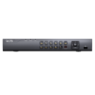 Platinum Advanced Level 4 Channel Hybrid NVR - Compact 1U