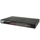 24-Ports 100Mbps Unmanaged PoE Switch