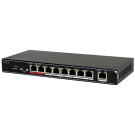 8-Ports 100Mbps Unmanaged PoE Switch