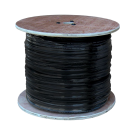 Coaxial Siamese Cable w/o Connectors - 500ft Black