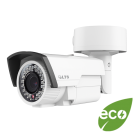 eco - Platinum HD-TVI Varifocal Bullet Camera 2.1MP, AC 24V/ DC 12V - White
